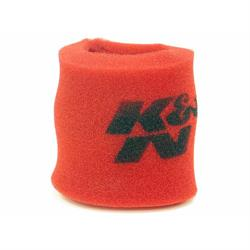 K&N 25-3346 Airforce Air Filter Foam Wrap, 6in Tall, Red