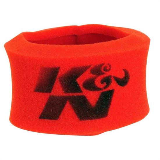 K&N 25-3460 Airforce Air Filter Foam Wrap, 3.25in Tall, Red