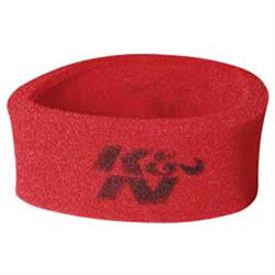 K&N 25-3750 Airforce Air Filter Foam Wrap, 4in Tall, Red