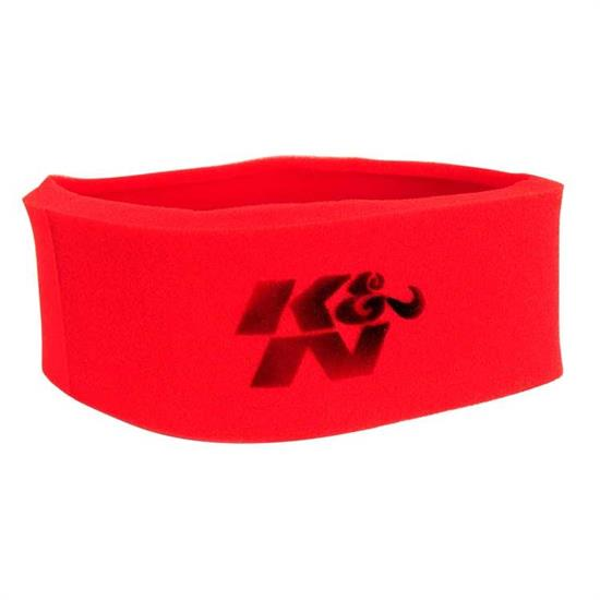 K&N 25-3760 Airforce Air Filter Foam Wrap, 5in Tall, Red