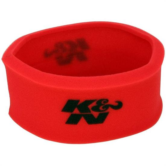 K&N 25-3770 Airforce Air Filter Foam Wrap, 6in Tall, Red