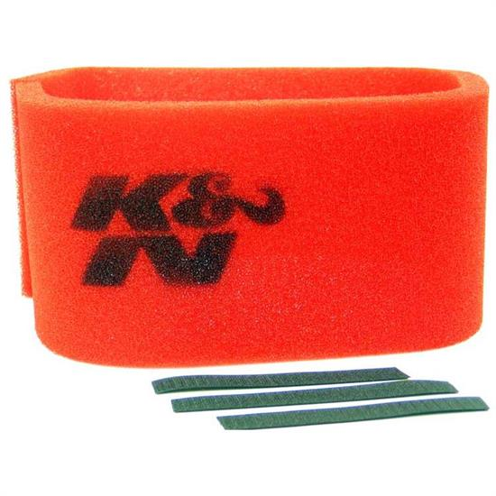 K&N 25-3900 Airforce Air Filter Foam Wrap, in Tall, Red