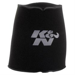 K&N 25-5166 Airforce Air Filter Foam Wrap, 12in Tall, Charcoal