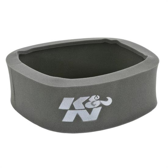 K&N 25-5300 Airforce Air Filter Foam Wrap, 4in Tall, Charcoal