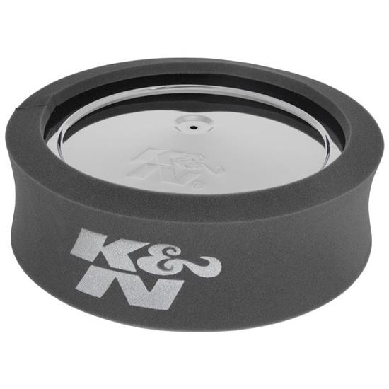 K&N 25-5500 Airforce Air Filter Foam Wrap, 4in Tall, Charcoal