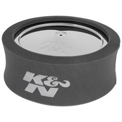 K&N 25-5600 Airforce Air Filter Foam Wrap, 5in Tall, Charcoal