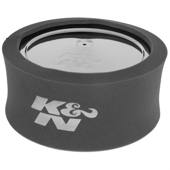 K&N 25-5700 Airforce Air Filter Foam Wrap, 6in Tall, Charcoal