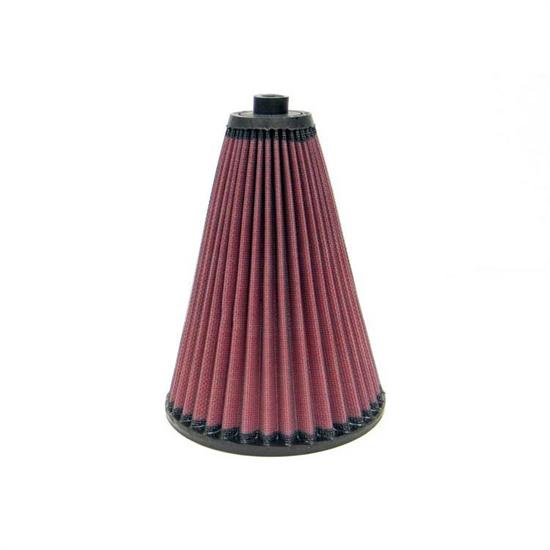 K&N 28-4105 High-Flow Auto Racing Filter, 8in Tall, Tapered Conical