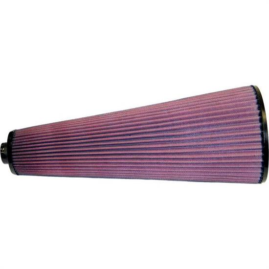 K&N 28-4120 High-Flow Auto Racing Filter, 16in Tall, Tapered Conical