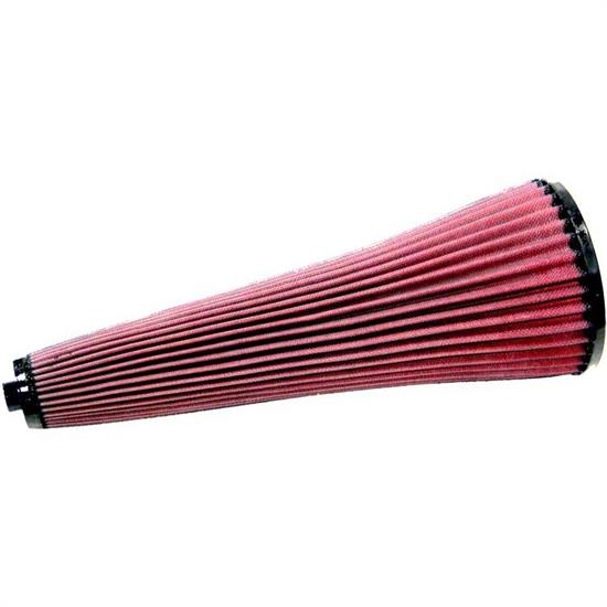 K&N 28-4130 High-Flow Auto Racing Filter, 16in Tall, Tapered Conical