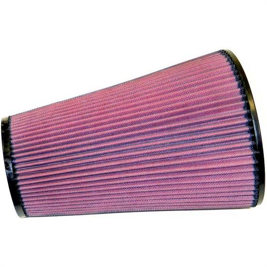 K&N 28-4131 High-Flow Auto Racing Filter, 11.625 Tall, Tapered Conical