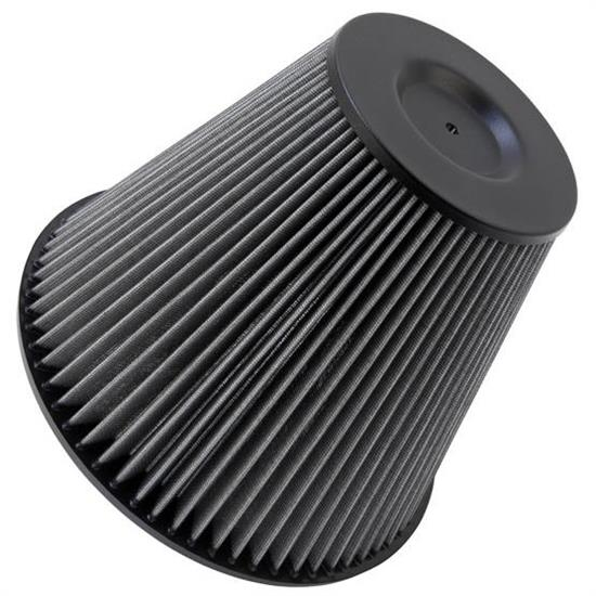 K&N 28-4215 Base Mount Scoop Filter, 8.875in Tall, Tapered Conical