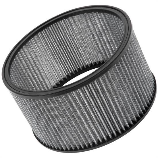 K&N 28-4240 Auto Racing Filter, 5in Tall, Round