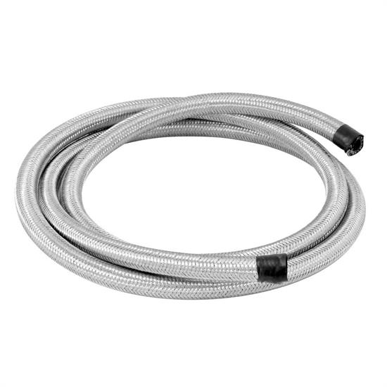 46529206_L_13d478db e783 4a63 a20f 116781ec513b spectre 29206 braided stainless steel flex fuel line, 1 4 inch x 6 ft