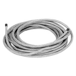 Spectre 29225 Braided Stainless Steel-Flex Fuel Line, 1/4 Inch x 25 Ft