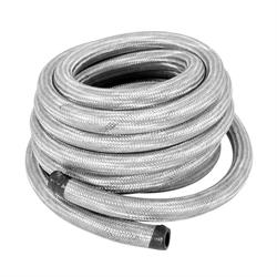 Spectre 29325 Braided Stainless Steel-Flex Fuel Line,5/16 Inch x 25 Ft