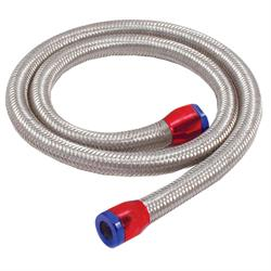 Spectre 29390 Braided Stainless Steel-Flex Fuel Line, 5/16 Inch x 3 Ft