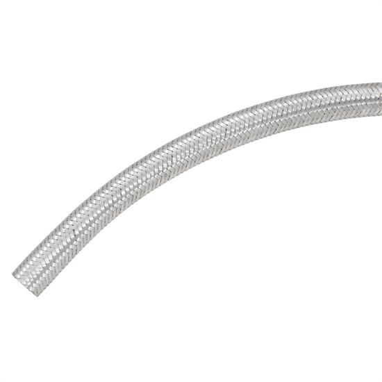 46529425_L_49d9a587 e9eb 47a9 bd80 e8df234a78bb spectre 29425 braided stainless steel flex fuel line, 3 8 inch x 25 ft