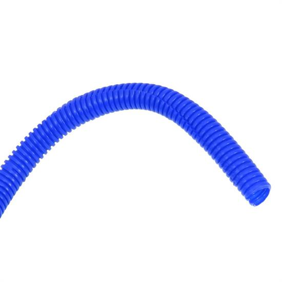 Spectre 29686 Convoluted Wire Loom Tubing, Blue, 3/8 Inch x 8 Ft.