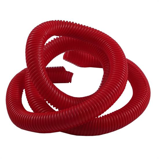 Spectre 29842 Convoluted Wire Loom Tubing, Red, 3/4 Inch x 4 Ft.