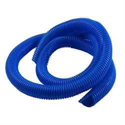Spectre 29846 Convoluted Wire Loom Tubing, Blue, 3/4 Inch x 4 Ft.