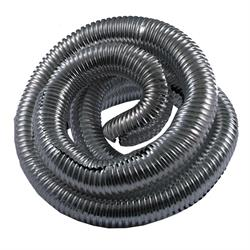 Spectre 29848 Convoluted Wire Loom Tubing, Chrome, 3/4 Inch x 4 Ft.