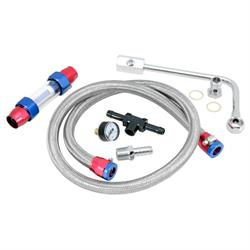 Spectre 2985 Edelbrock Fuel Line Kit, Carter/Edelbrock, 3/8-5/8, Each