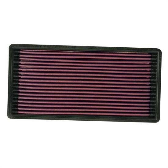 K&N 33-2018 Lifetime Performance Air Filter, Jeep 2.5L-4.0L
