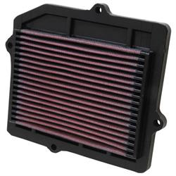 K&N 33-2025 Lifetime Performance Air Filter, Honda 1.5L-1.6L