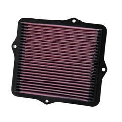 K&N 33-2047 Lifetime Performance Air Filter, Honda 1.4L-1.6L