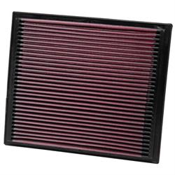 K&N 33-2069 Lifetime Performance Air Filter, Seat 2.0L, VW 1.4L-2.9L