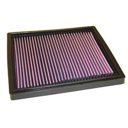 K&N 33-2077 Lifetime Performance Air Filter, Porsche 3.6L