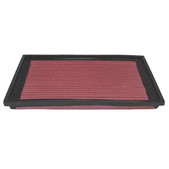 K&N 33-2079 Lifetime Performance Air Filter, Porsche 2.5L-2.7L
