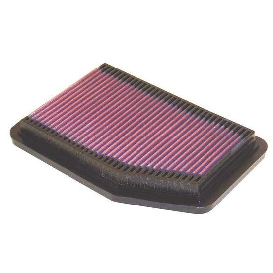K&N 33-2083 Lifetime Performance Air Filter, Mazda 1.6L-1.8L