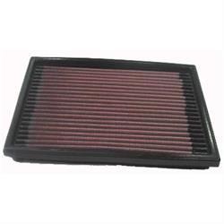 K&N 33-2098 Lifetime Performance Air Filter, Opel/Vauxhall 1.0L-1.7L