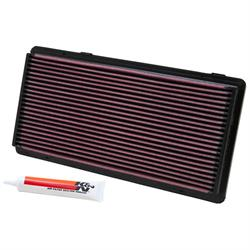 K&N 33-2122 Lifetime Performance Air Filter, Jeep 2.5L-4.0L