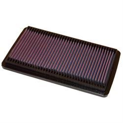 K&N 33-2124 Lifetime Performance Air Filter, Honda 1.8L-2.3L