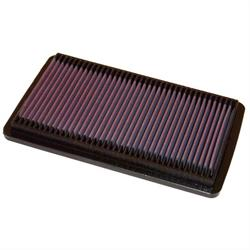 K&N 33-2124 Lifetime Performance Air Filter, Honda 1.8L-2.3L
