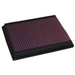 K&N 33-2153 Lifetime Performance Air Filter, Chrysler 1.6L-2.4L