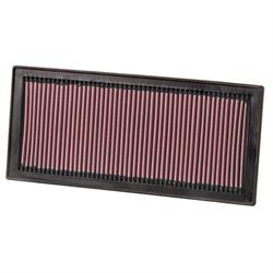 K&N 33-2154 Lifetime Performance Air Filter, Subaru 1.6L-2.5L