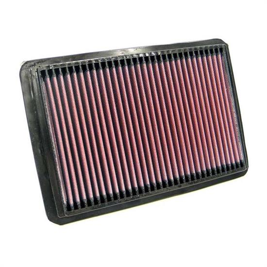 K&N 33-2171 Lifetime Performance Air Filter, Fiat 1.2L