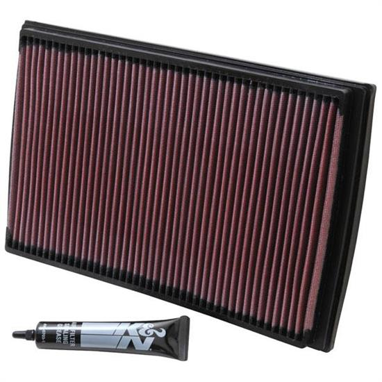 K&N 33-2176 Lifetime Performance Air Filter, Volvo 2.0L-2.5L