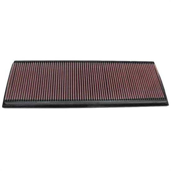 K&N 33-2189 Lifetime Performance Air Filter, Porsche 3.6L