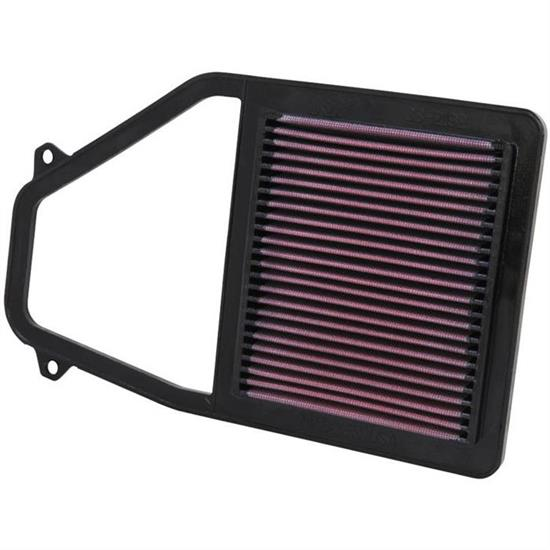 K&N 33-2192 Lifetime Performance Air Filter, Acura 1.7L, Honda 1.7L