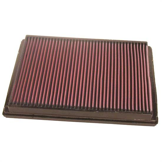 K&N 33-2213 Lifetime Performance Air Filter, Opel/Vauxhall 1.6L-2.2L