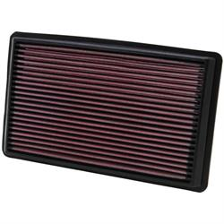 K&N 33-2232 Lifetime Performance Air Filter, Subaru 1.6L-3.3L