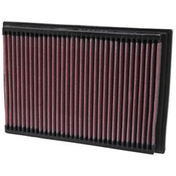 K&N 33-2245 Lifetime Performance Air Filter, Peugeot 1.4L-2.0L