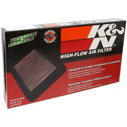 K&N 33-2270 Lifetime Performance Air Filter, Mini 1.6L