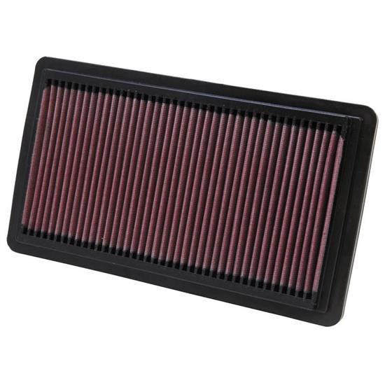 K&N 33-2279 Lifetime Performance Air Filter, Mazda 2.3L-3.0L