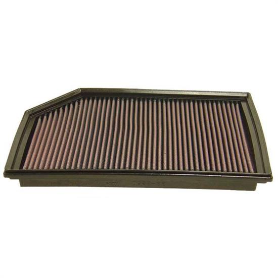 K&N 33-2280 Lifetime Performance Air Filter, Volvo 2.4L-2.9L